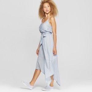 UNIVERSAL THREAD • asymmetrical midi dress